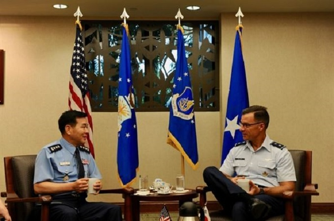 PACAF hosts ROKAF Academy cadets to promote interoperability, partnership