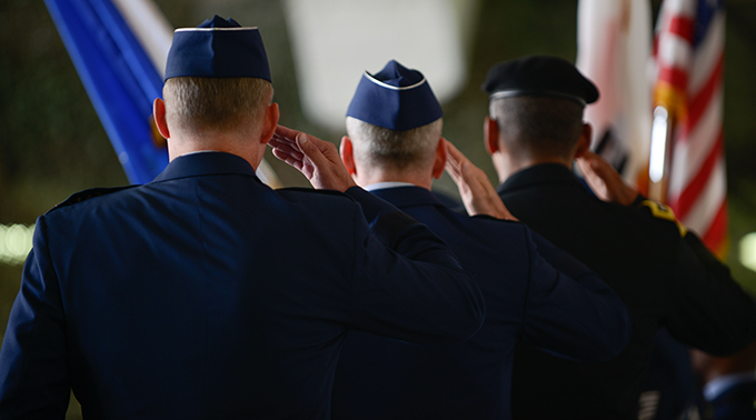 Seventh Air Force Change of Command