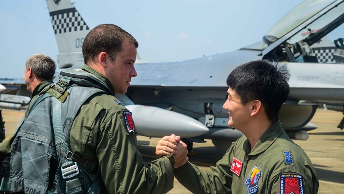 ROK, US forces integrate at Daegu for Buddy Wing 16-7